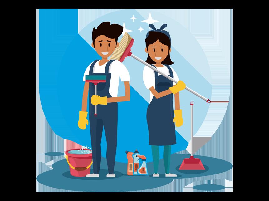 gestionale squadre pulizie hoidacloud