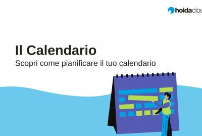 calendario pianificazione attività