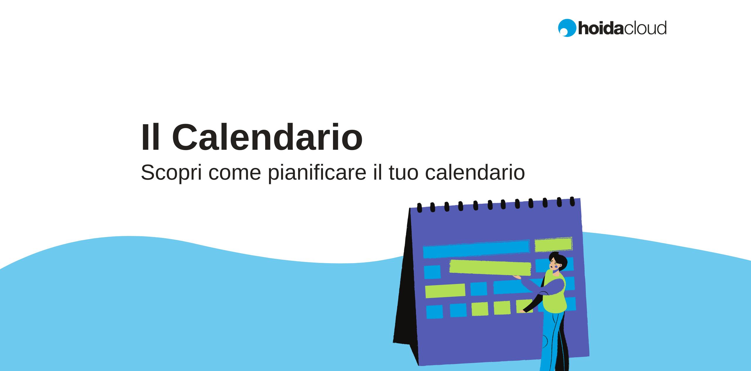 calendario attività lavorative